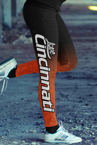Image of Cincinnati Football Classic Leggings
