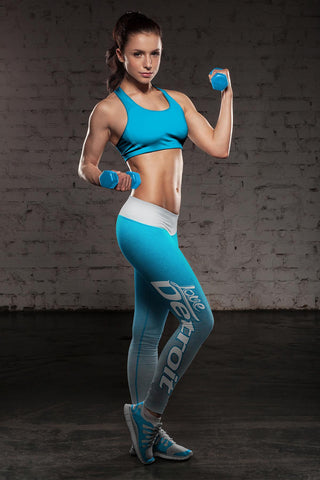 Image of Detroit Football Classic Leggings