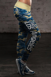 Los Angeles Football Camo Leggings