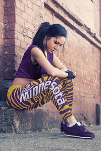 Minnesota Football Camo Leggings
