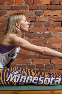 Minnesota Football Striped Leggings