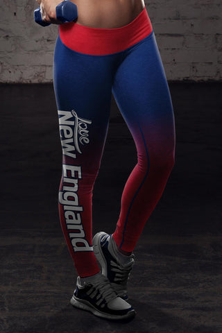 Image of New England Football Classic Leggings
