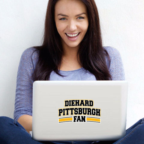 Diehard Pittsburgh Fan Decal