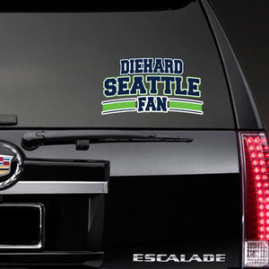 Diehard Seattle Fan Decal