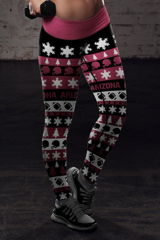 Arizona Ugly Christmas Classic Football Leggings
