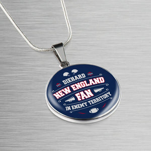 DH New England Fan in Enemy Territory - Necklace
