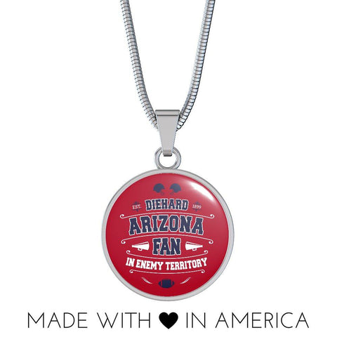 Image of DH Arizona Fan in Enemy Territory - Necklace