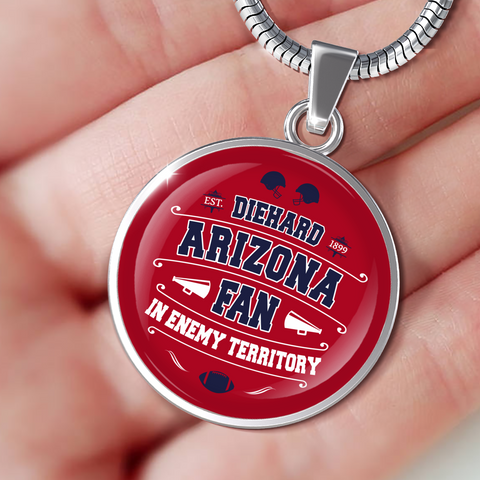 DH Arizona Fan in Enemy Territory - Necklace