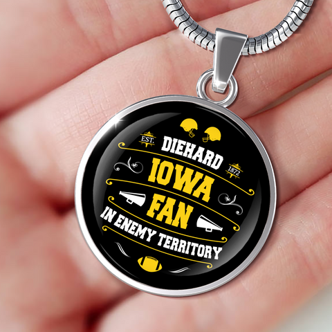 Image of DH Iowa Fan in Enemy Territory - Necklace