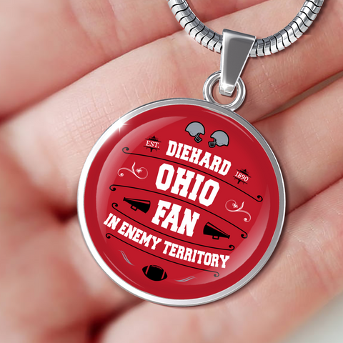 Image of DH Ohio Fan in Enemy Territory - Necklace