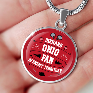 DH Ohio Fan in Enemy Territory - Necklace