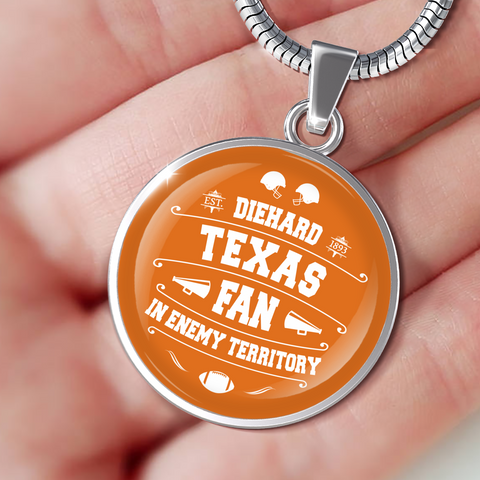 Image of DH Texas Fan in Enemy Territory - Necklace