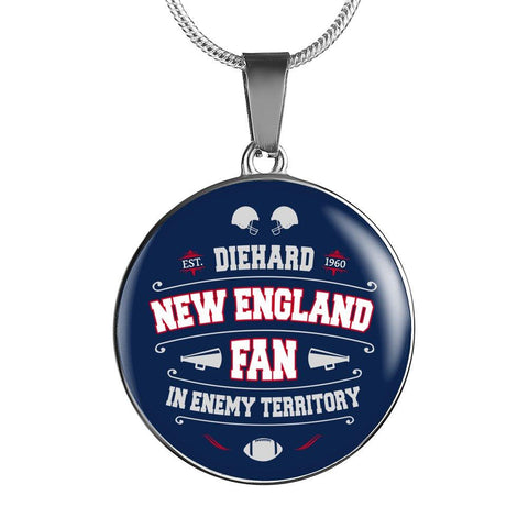 Image of DH New England Fan in Enemy Territory - Necklace