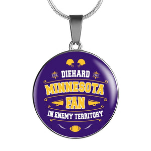 DH Minnesota Fan in Enemy Territory - Necklace
