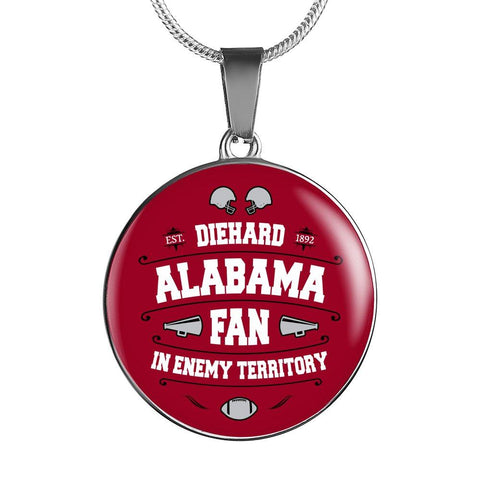 Image of DH Alabama Fan in Enemy Territory - Necklace