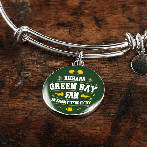 DH Green Bay Fan in Enemy Territory - Bangle