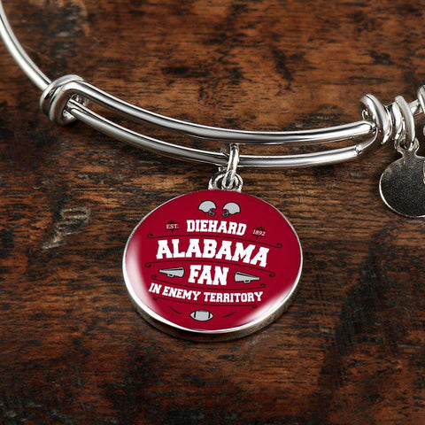 DH Alabama Fan in Enemy Territory - Bangle