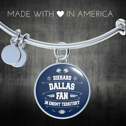 Image of DH Dallas Fan in Enemy Territory - Bangle