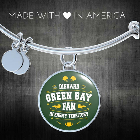 Image of DH Green Bay Fan in Enemy Territory - Bangle