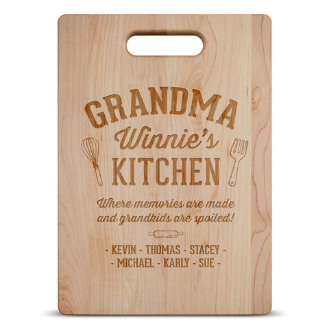 Image of Memories Are Made Cutting Board
