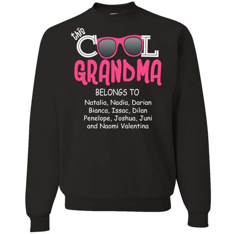 Cool Grandma Belongs To Grandkids Names