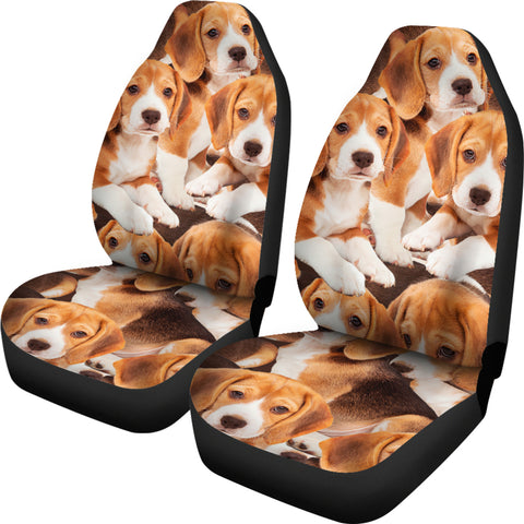 Image of Beagles CAR SEAT COVERS (Set of 2)