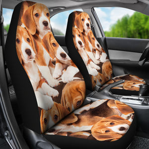 Beagles CAR SEAT COVERS (Set of 2)