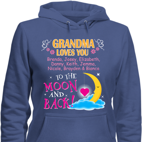 Grandma Loves You to the Moon and Back