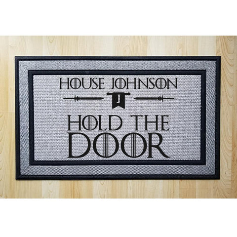 Personalized Bend The Knee Indoor/Outdoor Door Mat