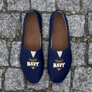 Navy Ladies Casuals