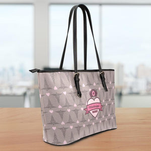 MS Nurse Large Leather Tote Bag