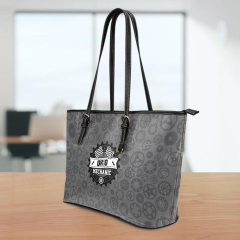 Image of OH Mechanic Small Leather Tote Bag