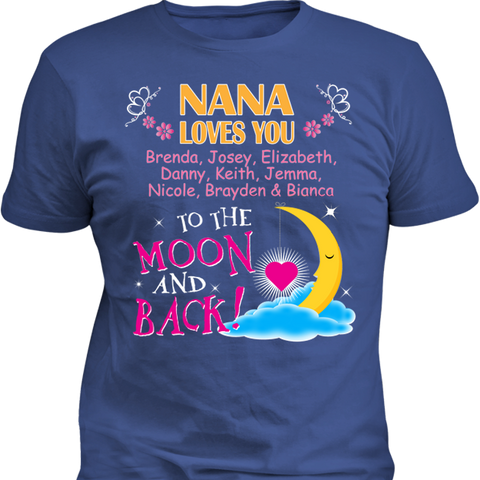 Nana Loves You To The Moon and Back