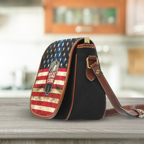 Image of Texas Strong Saddle Bag