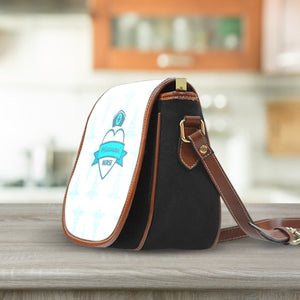 MS Nurse Blue Saddle Bag