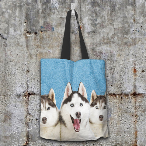 Image of Huskies Tote Bag