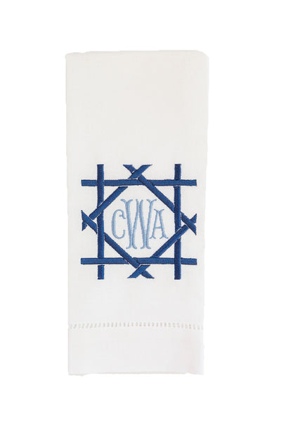 Bamboo Monogram Tea Towel