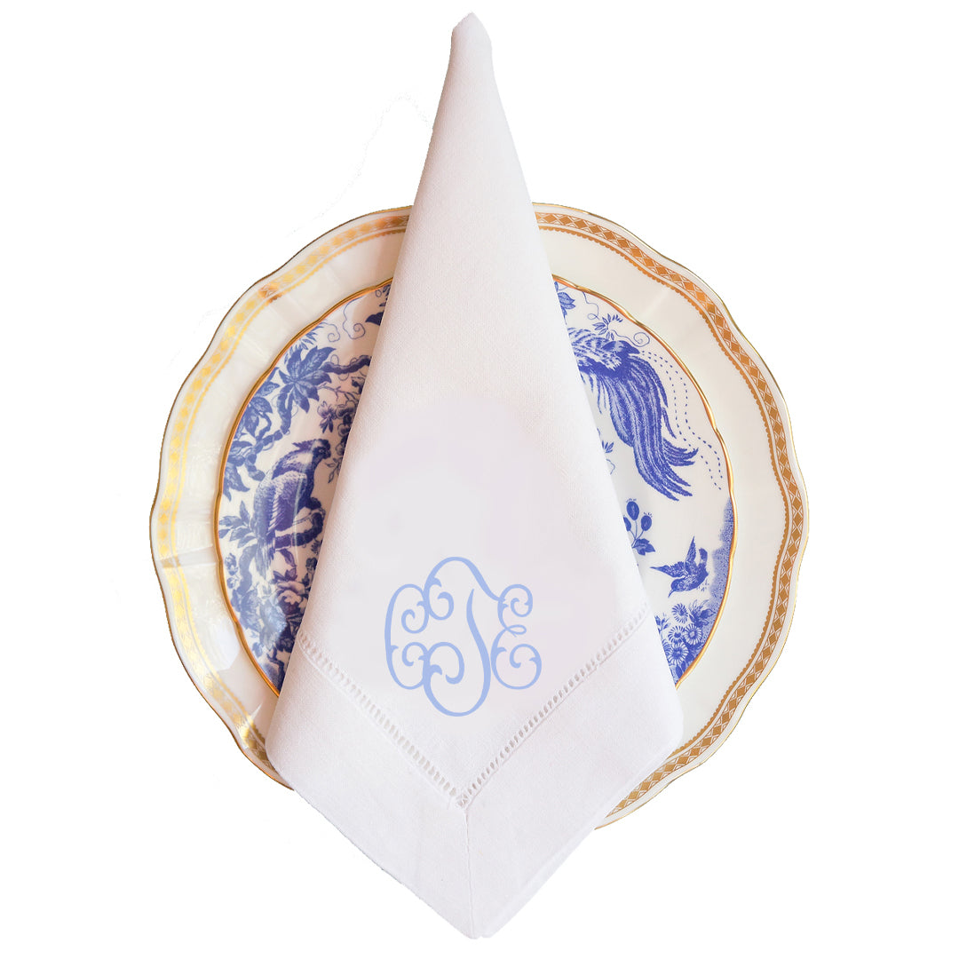Carolina Monogram Dinner Napkin