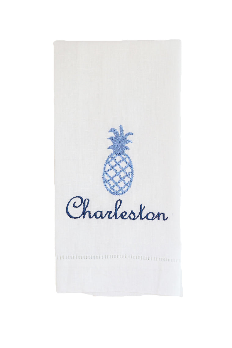 Pineapple with City Tea Towel