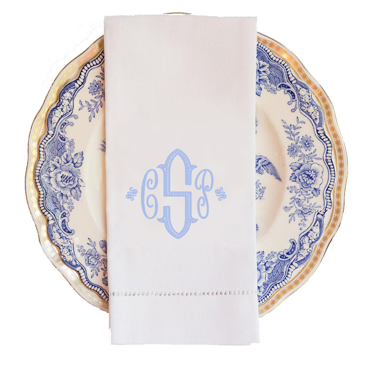 Richmond Monogram Guest Towel