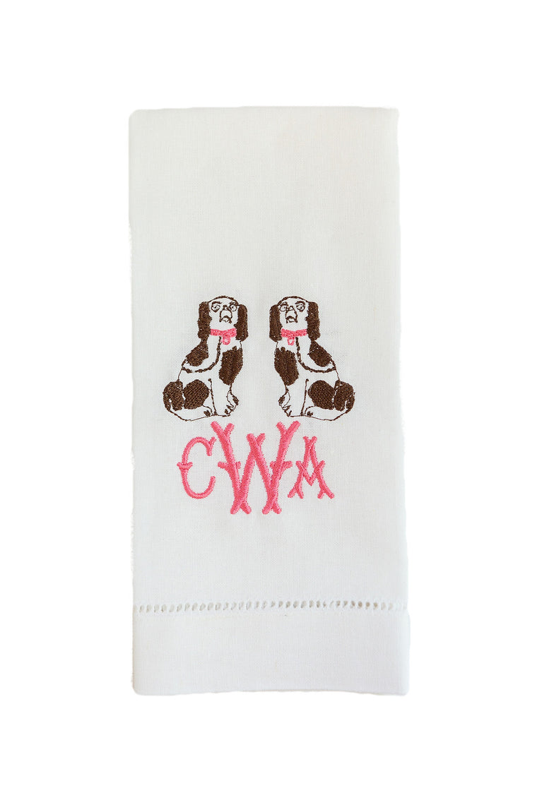 Staffordshire Dogs Tea Towel