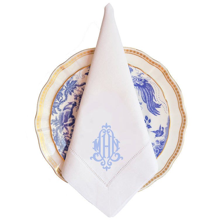 Virginia Monogram Dinner Napkin