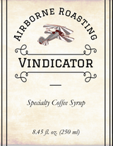 Vindicator - Specialty Coffee Syrup (250 ml)