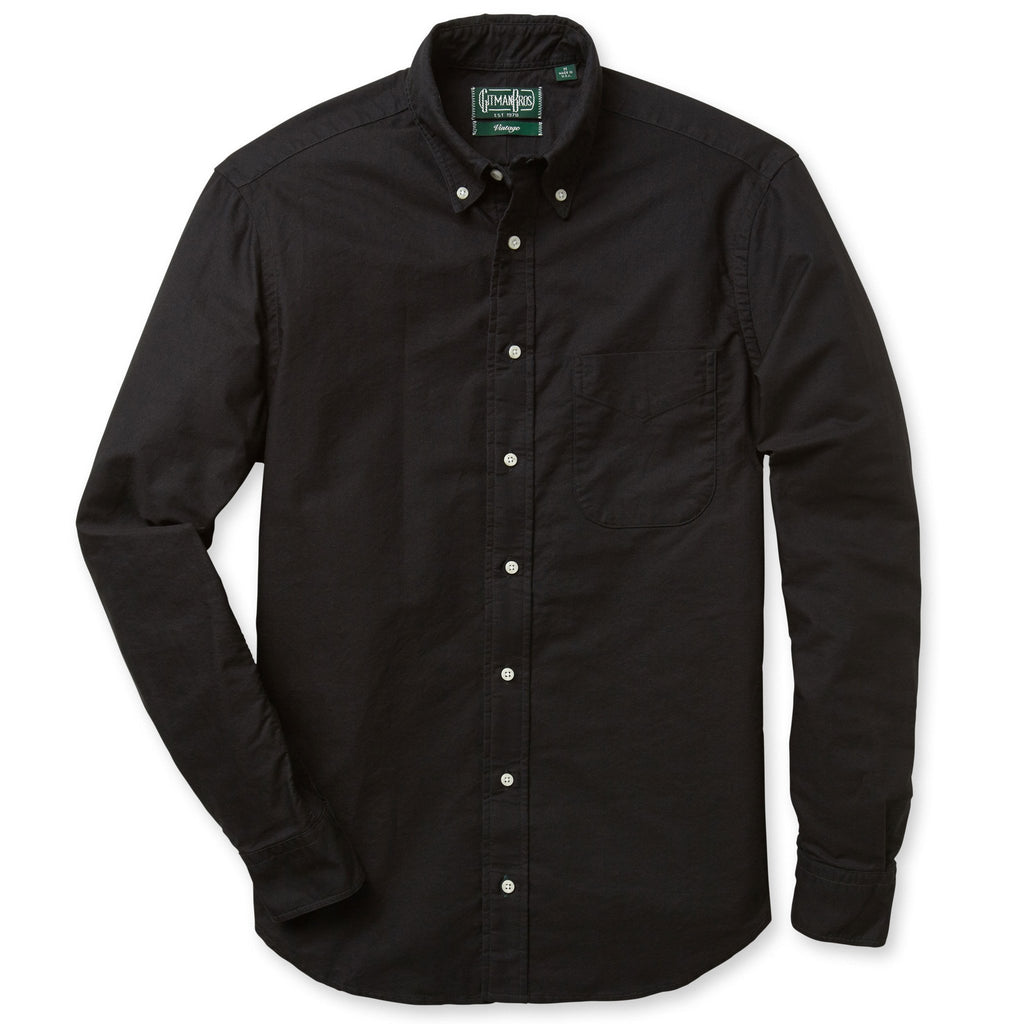 Button Down Overdye Oxford