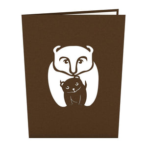 Bears Pop Up Card