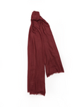 Wispy Weight Scarf, Burgundy