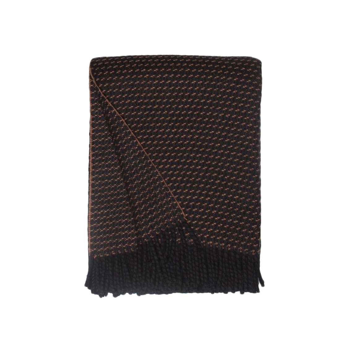 Clyde Honeycomb Cashmere Throw