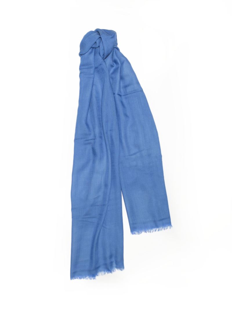 Wispy Weight Scarf, Cornflower
