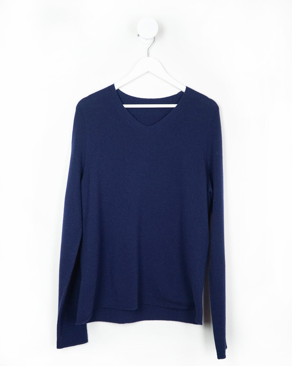 Knit To Order All-Gender Evan Vee Neck Cashmere Sweater