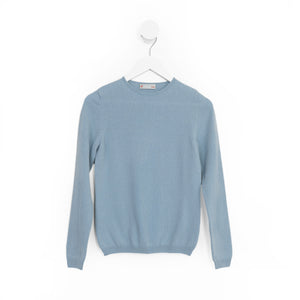 Knit to Order Ladies Eve Crew Neck Cashmere Sweater